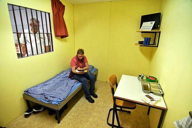 Wie ist es, im Gefängnis zu sitzen? Ein Selbstversuch