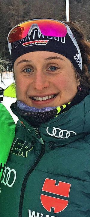 Christin Maier startete mit einem Sieg...athlon in Gosheim in die neue Saison.   | Foto: Privat
