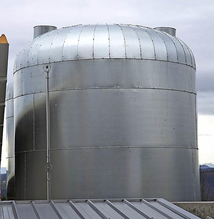 Die in Hägelbergs Nahwärmezentrale ent...Genossenschaft Energie aus Bürgerhand.  | Foto: Bergmann