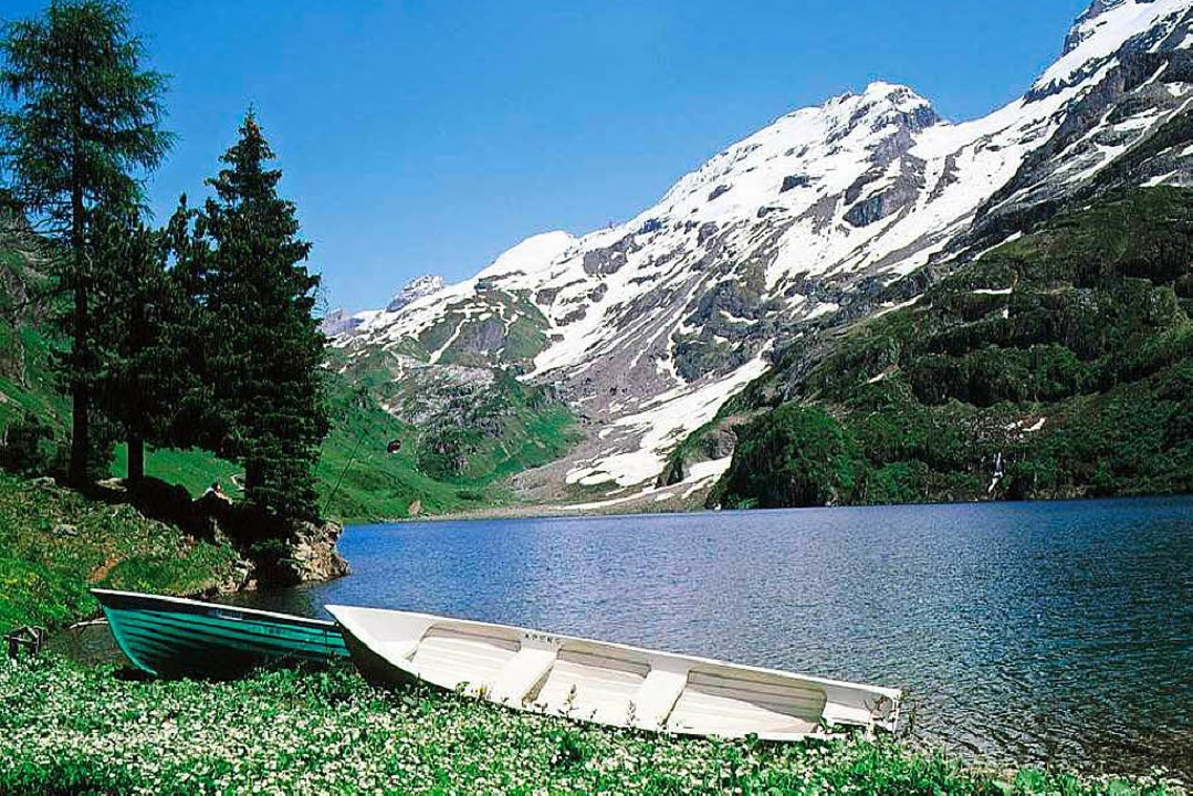 Den Alltag in den Bergen hinter sich lassen  | Foto: Haslital.ch