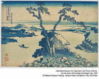 Japanische Holzschnitte im Haus der Graphischen Sammlung