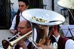 Fotos: Open Air der Stadtmusik Staufen im Schladerer-Hof