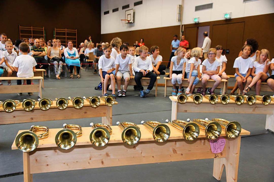 "Alles bereit zum ""Da capo""-Abschlussveranstaltung. | Foto: Eva Korinth"