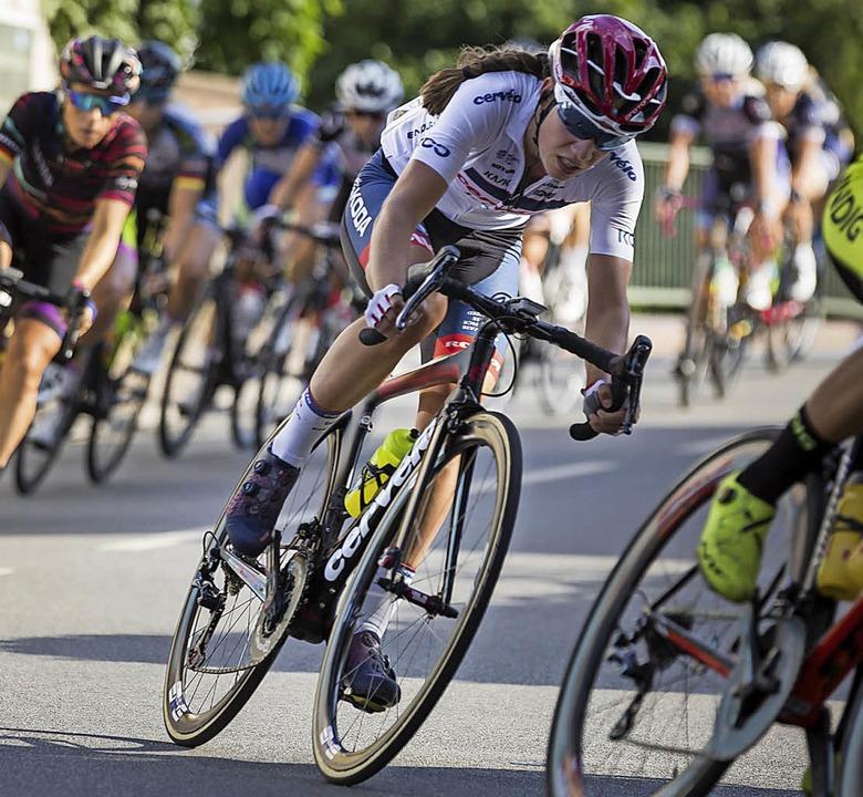Clara Koppenburg beim Straßenrennen am Samstag   | Foto: come-to-web