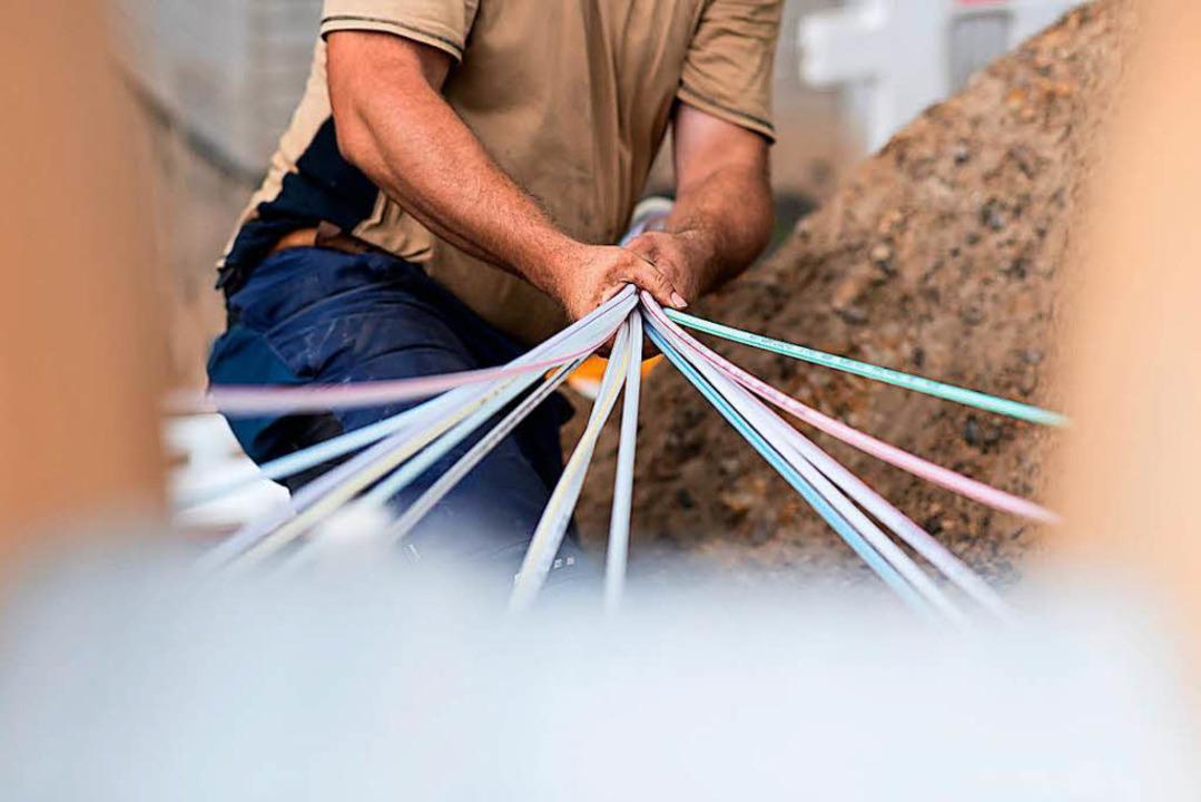 Die digitale Infrastruktur soll ausgebaut werden.  | Foto: dpa
