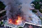 Fotos: Der Edeka-Markt in Breisach ist völlig abgebrannt
