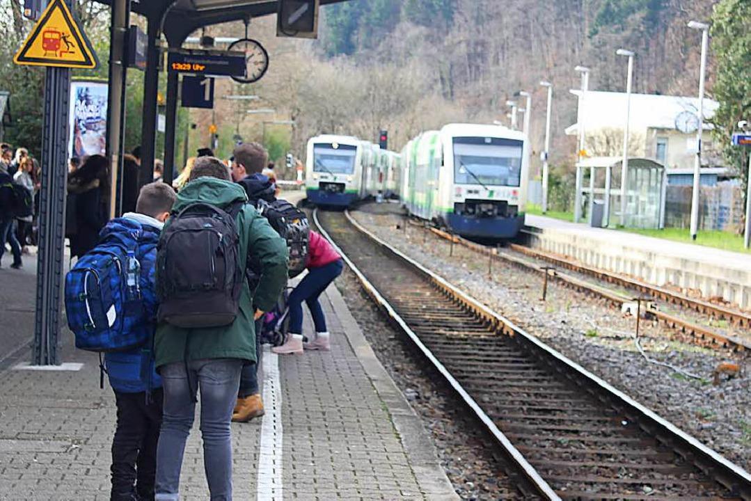 Bahnhof Waldkrich  | Foto: Bernd Fackler