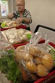 Gratis-Lebensmittel beim Tafeleinkauf