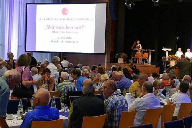 Landesseniorentag in Waldkirch: