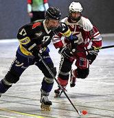 Hockeyteams im Einsatz
