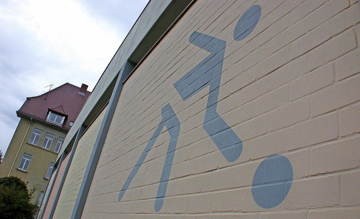 In der Ebert-Sporthalle findet am Sams...der Schopfheimer Handballsportverein.     Foto: Hönig/Privat