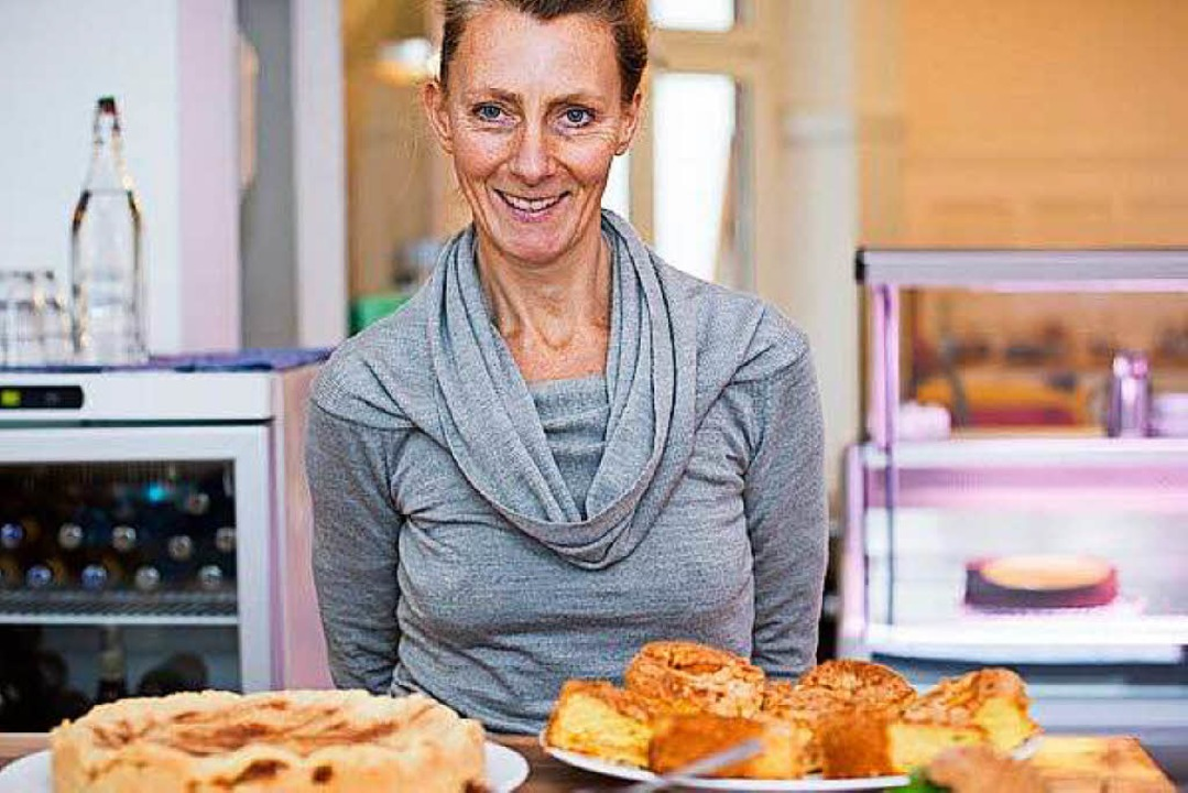 Annette Huber, Betreiberin des Cafés  | Foto: Julia Mungenast