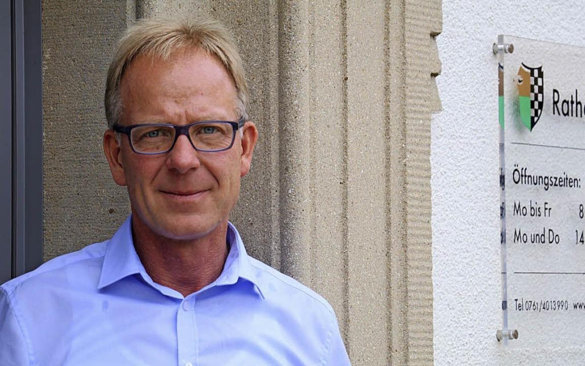 Jörg Kindel ist jetzt für zwei Gemeinden zuständig.  | Foto:  osc
