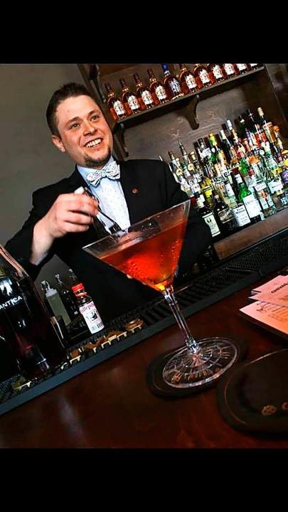 Moritz Leitis von der Hemingway Bar.    Foto: privat