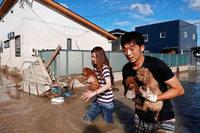 Dutzende Tote und massive Zerstörungen durch Hochwasser und Erdrutsche in Japan
