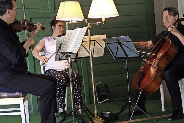 Feinste Kammermusik für guten Zweck