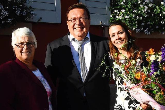 Bürgermeister Hartwig Bußhardt mit 84,9 Prozent wiedergewählt