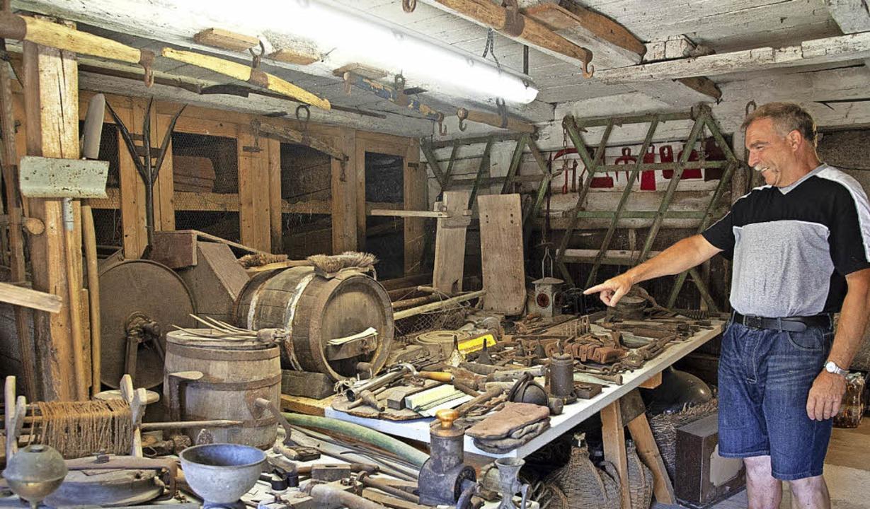Das Bauernmuseum in Buggingen mit seinem riesigen Fundus  ist einen Besuch wert.  | Foto: Volker Münch