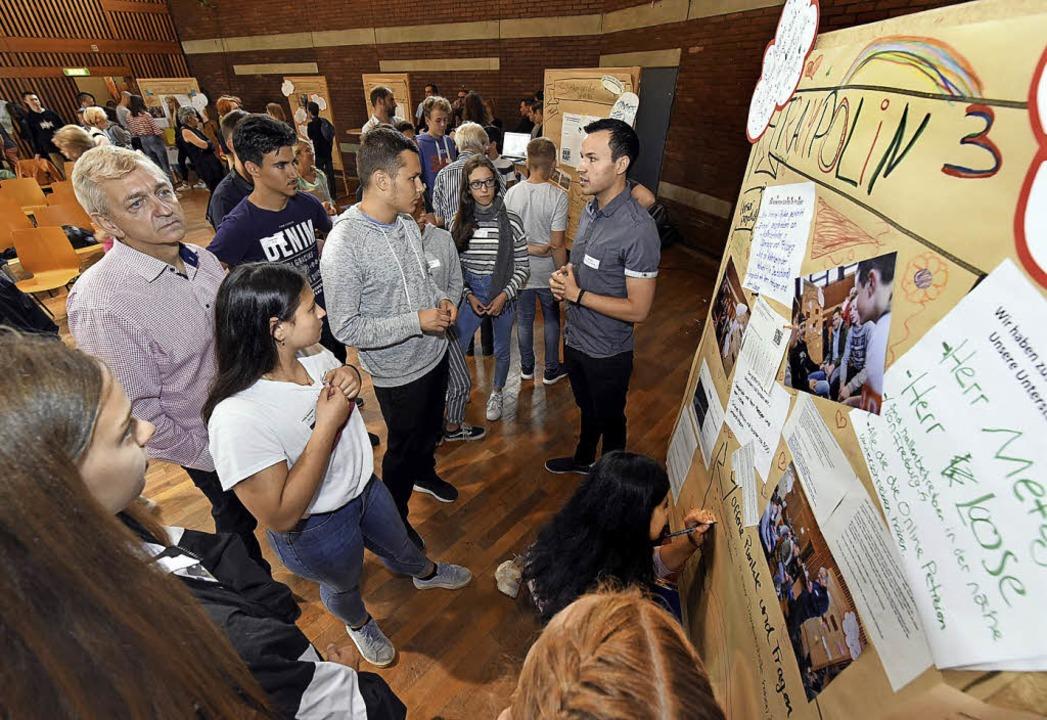 Zäh, aber lohnend: Jugendliche erleben Kommunalpolitik.  | Foto: Thomas Kunz
