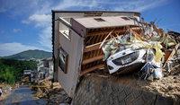 Hochwasserkatastrophe in Fernost