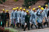 Rettungsaktion in Thailand wird fortgesetzt, während neuer Regen einsetzt
