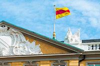 Das Karlsruher Schloss darf nun doch die badische Flagge hissen