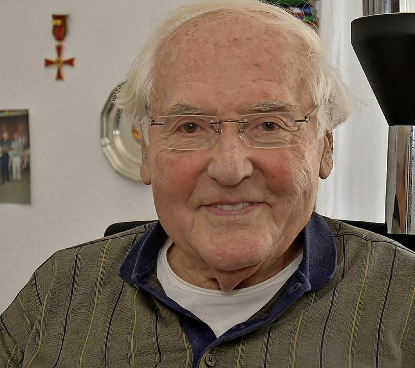 Günter Richter ist 85.  | Foto: Dieter Erggelet