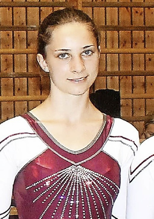 Chiara Gut holte 49,90 Punkte und war ...ubrich beste Löffinger Vierkämpferin.   | Foto: maier