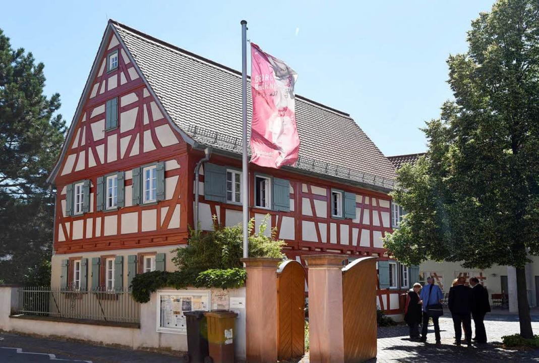Das Büchnerhaus im südhessischen Riedstadt-Goddelau.  | Foto: dpa