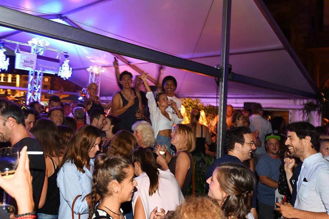 Kommt bei Besuchern eines Weinfestes stets gut an: Feiern <ppp> </ppp>  | Foto: Rita Eggstein