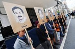 Fotos: Rund um das Urteil im NSU-Prozess wird der zehn Opfer gedacht