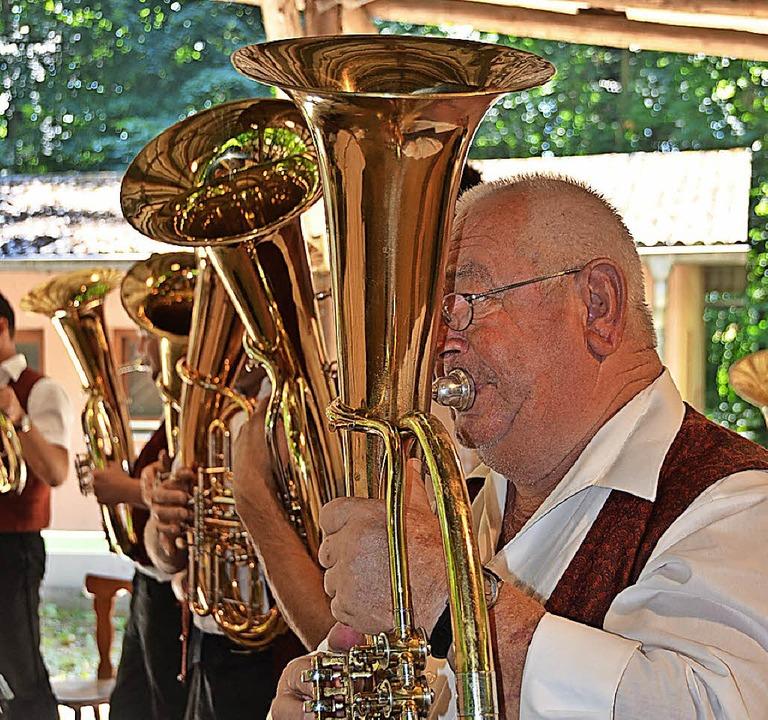 Blasmusik satt gibt's ab Freitag beim Waldfest des Musikvereins Sasbach.   | Foto: Archivfoto: Roland Vitt