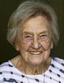 Olga Hoffmann wird 100 Jahre alt
