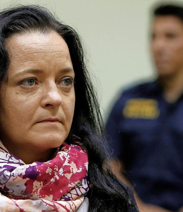 Beate Zschäpe am Tag der Urteilsverkündung vor Gericht  | Foto: AFP