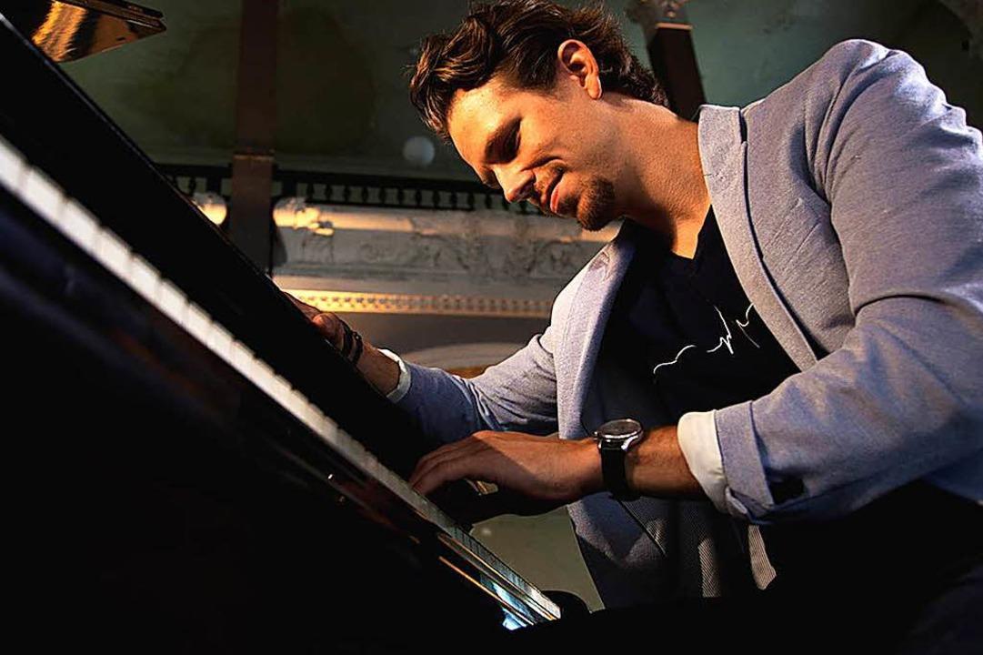 Spielt Musik zum Davonträumen: der Starpianist Martin Herzberg  | Foto: © Martin Herzberg