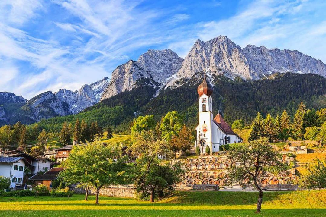 Atemberaubende Naturkulisse: die Bayerischen Alpen  | Foto: Noppasinw Fotolia