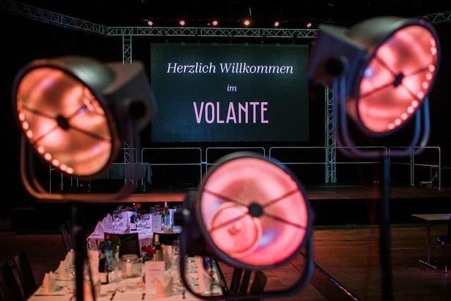 Effekte mit Licht, Sound und LED-Wand – das Volante bietet eine hochwertige technische Ausstattung