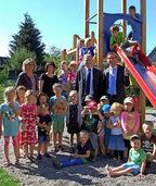 Kindergartenfreigelände ganz neu gestaltet
