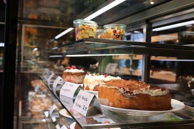 Verborgene Theken: Im Café Castanea gibt es leckere Bagels und Kuchen