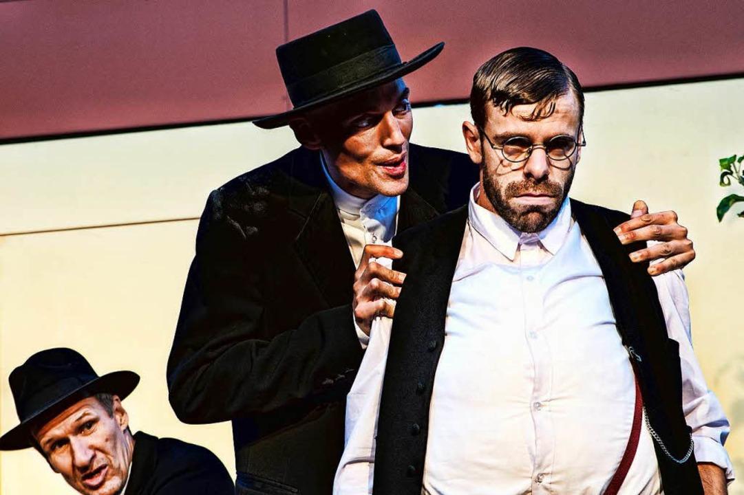 Trinkbrüder unter sich: Antonio Denscheilmann, Florian Wetter und Jochen Kruß.  | Foto: Manuel Kreitmeier