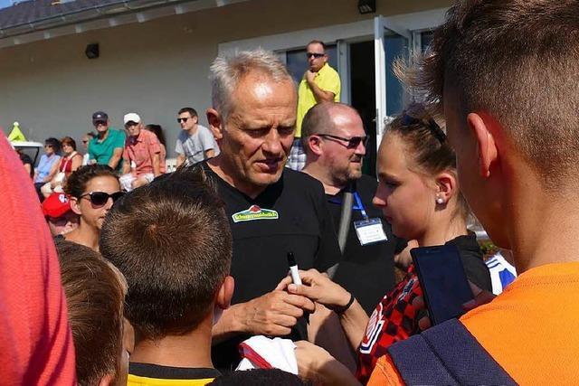 Der SC Freiburg kam – und siegte