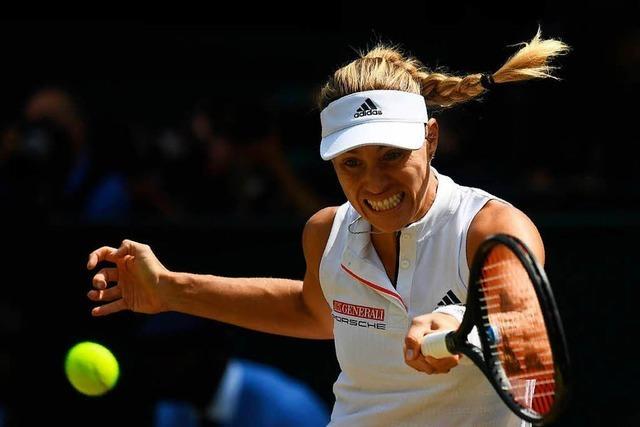 Angelique Kerber trifft im Wimbledon-Endspiel auf Serena Williams