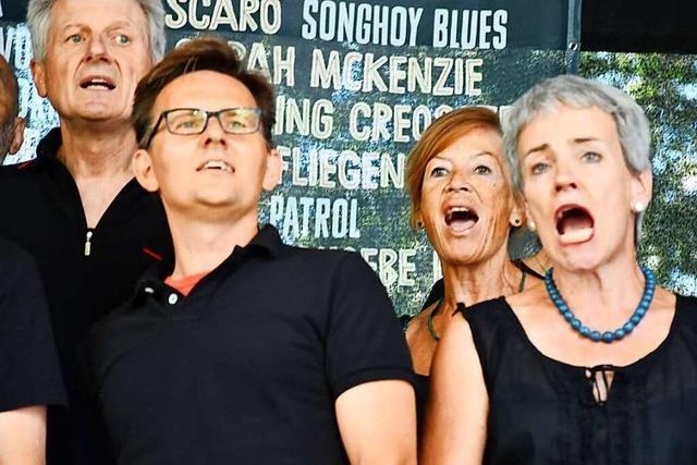 Lörrach singt am 15 Orten mit 80 Formationen mit 1700 Sängerinnen und Sängern