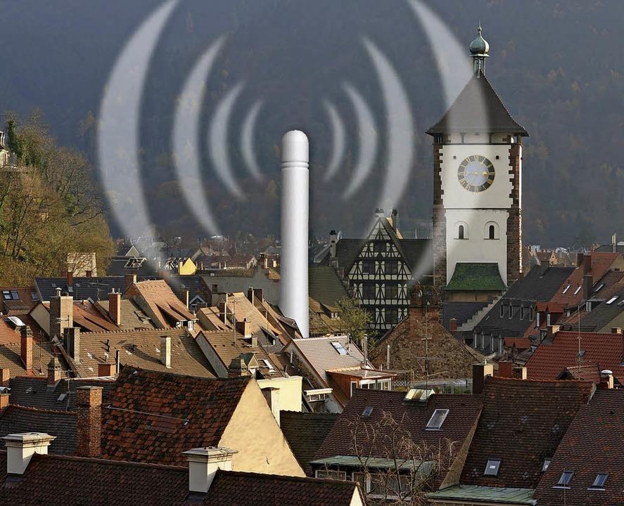 Die städtischen Gesellschaften könnten...iburgs freier Internetanbieter werden.  | Foto:  Eggstein/jki