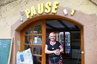 """An der Höllentalstrecke in Falkensteig gibt's einen neuen Kiosk – er heißt """"Pause"""""""