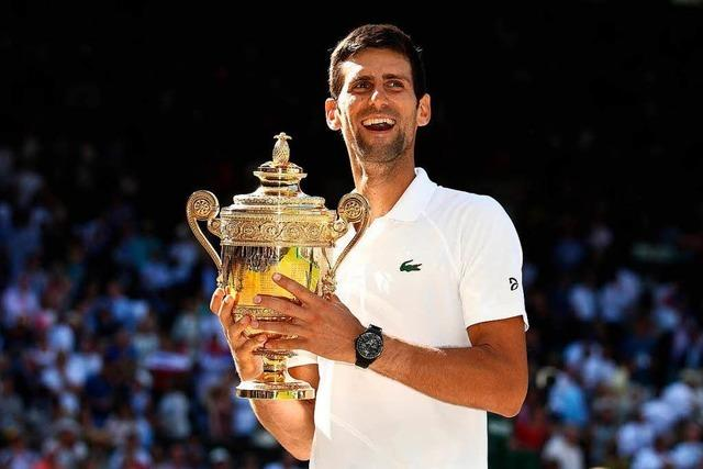 Novak Djokovic kürt sich zum Wimbledon-Champion