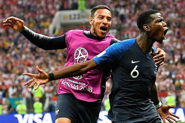 Denkwürdiges Finale: Frankreich krönt sich zum Fußball-Weltmeister