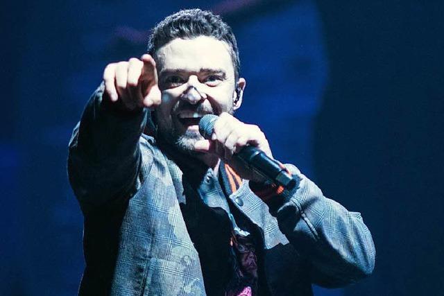 Evolution eines Popstars: Justin Timberlake trat in der Mannheimer SAP Arena auf