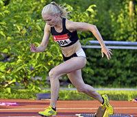 Sophia Sommer mit Bestzeiten auf den Sprintstrecken