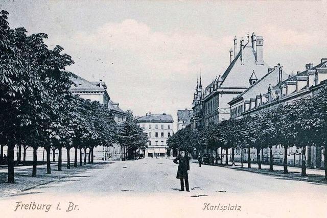 So hat sich der Karlsplatz in Freiburg über die Jahrzehnte verändert